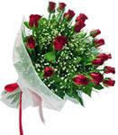Düzce çiçek servisi , çiçekçi adresleri  11 adet kirmizi gül buketi sade ve hos sevenler