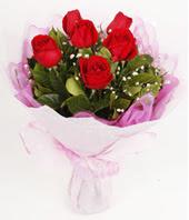 9 adet kaliteli görsel kirmizi gül  Düzce online çiçek gönderme sipariş