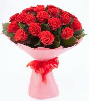 12 adet kırmızı gül buketi  Düzce çiçek online çiçek siparişi