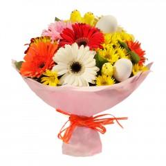 Karışık mevsim buketi Mevsimsel çiçek  Düzce kaliteli taze ve ucuz çiçekler