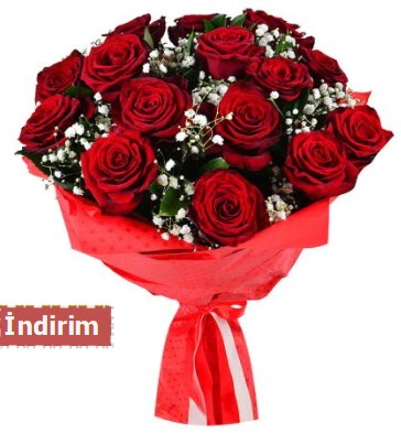 12 Adet kırmızı aşk gülleri  Düzce cicekciler , cicek siparisi