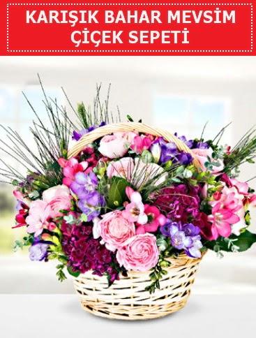 Karışık mevsim bahar çiçekleri  Düzce 14 şubat sevgililer günü çiçek