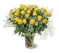 Düzce çiçek online çiçek siparişi  15 adet sarigül mika yada cam vazoda