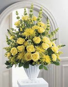 Düzce çiçek online çiçek siparişi  sari güllerden sebboy tanzim çiçek siparisi