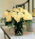 Düzce çiçek online çiçek siparişi  11 adet sari gül mika yada cam vazo tanzim