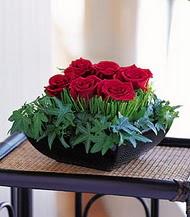 Düzce çiçek online çiçek siparişi  10 adet kare mika yada cam vazoda gül tanzim