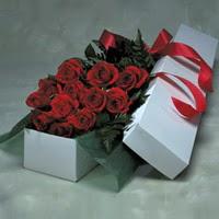 Düzce yurtiçi ve yurtdışı çiçek siparişi  11 adet gülden kutu