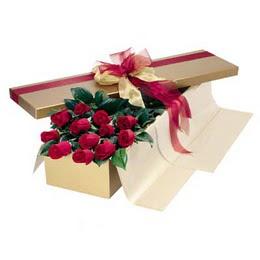 Düzce çiçek yolla , çiçek gönder , çiçekçi   10 adet kutu özel kutu