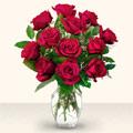 Düzce çiçek siparişi vermek  10 adet gül cam yada mika vazo da