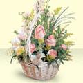 Düzce çiçek gönderme sitemiz güvenlidir  sepette pembe güller