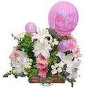 balon ve çiçeklerle tanzim  Düzce çiçek servisi , çiçekçi adresleri