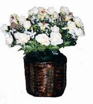yapay karisik çiçek sepeti   Düzce online çiçekçi , çiçek siparişi