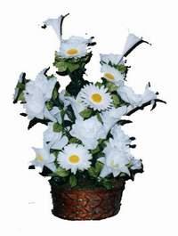 yapay karisik çiçek sepeti  Düzce güvenli kaliteli hızlı çiçek