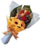 güller ve gerbera çiçekleri   Düzce internetten çiçek siparişi
