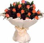 11 adet gonca gül buket   Düzce internetten çiçek siparişi