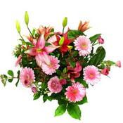 lilyum ve gerbera çiçekleri - çiçek seçimi -  Düzce online çiçek gönderme sipariş