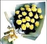 sari güllerden sade buket  Düzce uluslararası çiçek gönderme