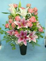 Düzce çiçek servisi , çiçekçi adresleri  cam vazo içerisinde 21 gül 1 kazablanka