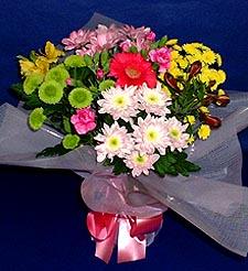 Düzce anneler günü çiçek yolla  küçük karisik mevsim demeti