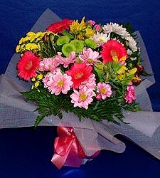 karisik sade mevsim demetligi   Düzce çiçek gönderme sitemiz güvenlidir
