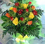 13 adet karisik gül buketi demeti   Düzce İnternetten çiçek siparişi