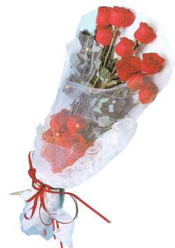 11 adet kirmizi güller buket tanzimi   Düzce çiçek online çiçek siparişi