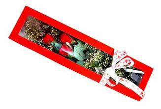 Düzce anneler günü çiçek yolla  Kutuda 3 adet gül