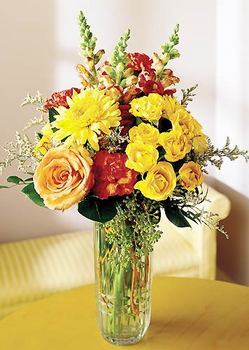Düzce çiçek gönderme sitemiz güvenlidir  mika yada cam içerisinde karisik mevsim çiçekleri