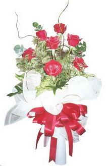 Düzce çiçek online çiçek siparişi  7 adet kirmizi gül buketi