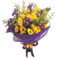 Düzce internetten çiçek siparişi  Karisik mevsim demeti karisik çiçekler