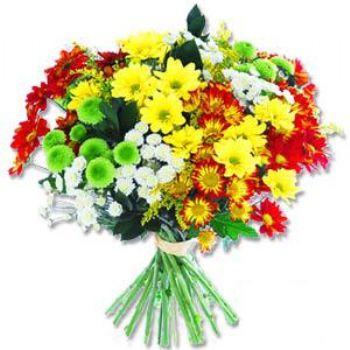 Kir çiçeklerinden buket modeli  Düzce yurtiçi ve yurtdışı çiçek siparişi