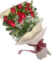 11 adet kirmizi güllerden özel buket  Düzce kaliteli taze ve ucuz çiçekler