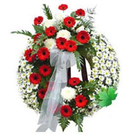 Cenaze çelengi cenaze çiçek modeli  Düzce İnternetten çiçek siparişi