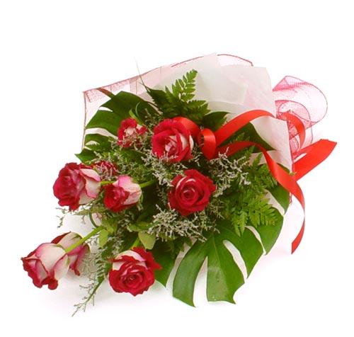 çiçek gönder 7 adet kirmizi gül buketi  Düzce ucuz çiçek gönder