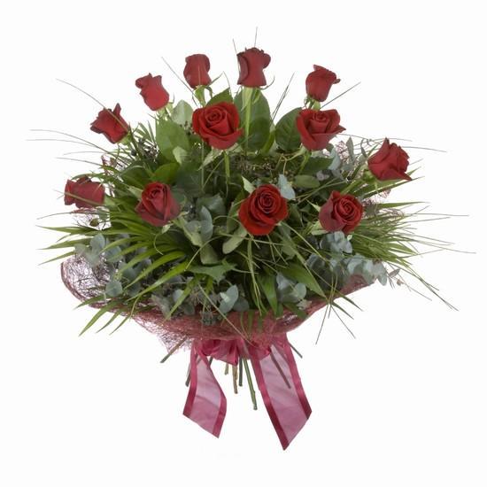 Etkileyici buket 11 adet kirmizi gül buketi  Düzce çiçek servisi , çiçekçi adresleri