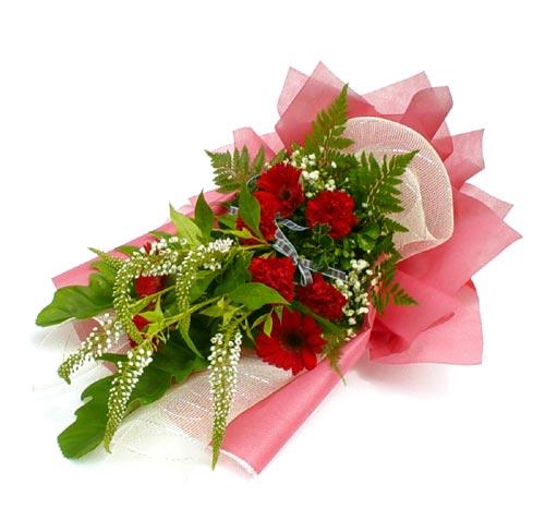 Karisik çiçek buketi mevsim buket  Düzce çiçek online çiçek siparişi