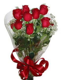 Çiçek sade gül buketi 7 güllü buket  Düzce yurtiçi ve yurtdışı çiçek siparişi
