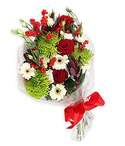 Karisik mevsim buketi çiçek tanzimi  Düzce kaliteli taze ve ucuz çiçekler