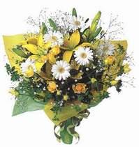 Düzce 14 şubat sevgililer günü çiçek  Lilyum ve mevsim çiçekleri