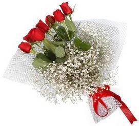 7 adet essiz kalitede kirmizi gül buketi  Düzce çiçek gönderme