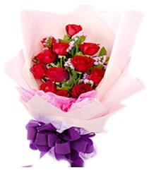 7 gülden kirmizi gül buketi sevenler alsin  Düzce internetten çiçek siparişi