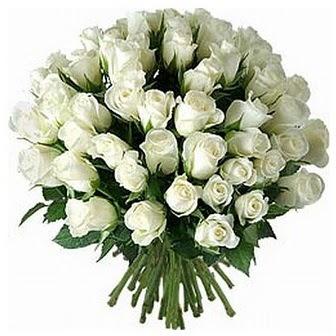 Düzce çiçek satışı  33 adet beyaz gül buketi