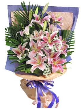 7 dal kazablankadan görsel buket  Düzce ucuz çiçek gönder