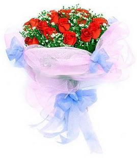 Düzce çiçek online çiçek siparişi  11 adet kırmızı güllerden buket modeli