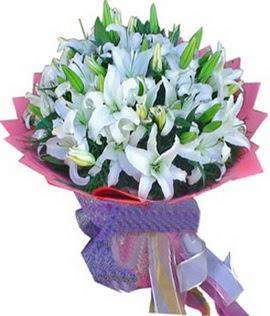 7 dal cazablanca görsel buketi  Düzce hediye sevgilime hediye çiçek