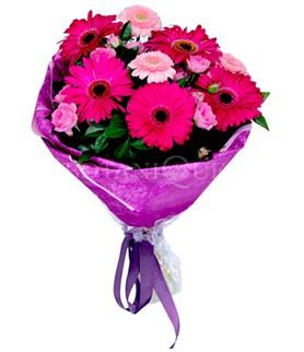 Düzce çiçek online çiçek siparişi  karışık gerbera çiçeği buketi
