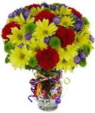 En güzel hediye karışık mevsim çiçeği  Düzce anneler günü çiçek yolla