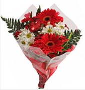 Mevsim çiçeklerinden görsel buket  Düzce çiçek mağazası , çiçekçi adresleri