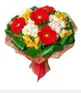 1 demet karışık buket  Düzce çiçek gönderme