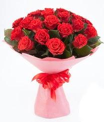 15 adet kırmızı gülden buket tanzimi  Düzce çiçek online çiçek siparişi